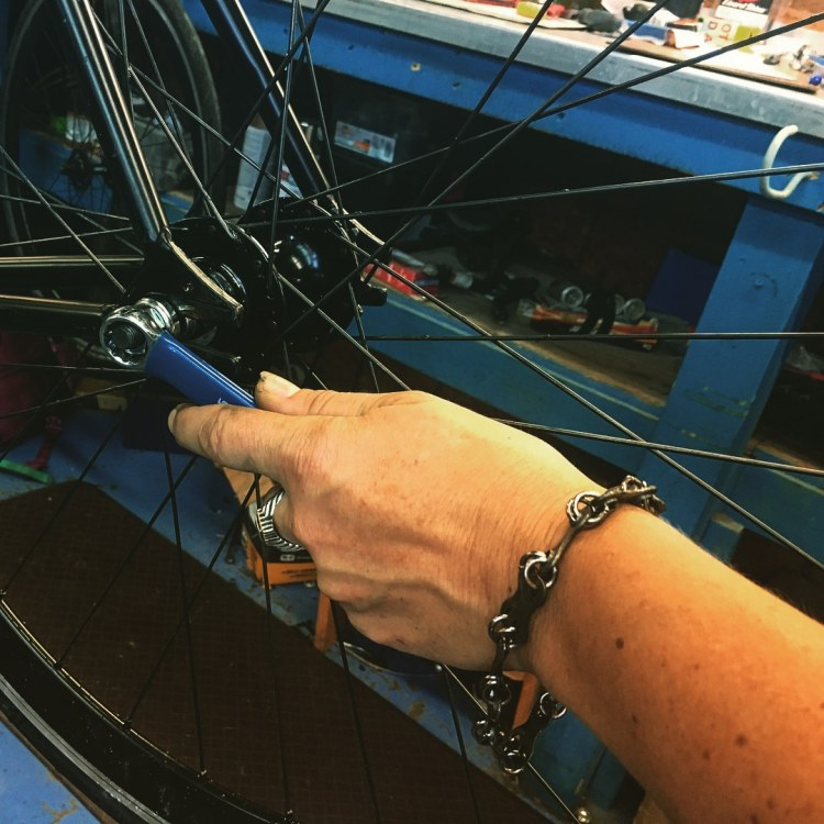 Birmingham, Alabama, Redemptive Cycles, bike gears