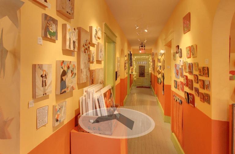 Birmingham, Naked Art Gallery, Google 360