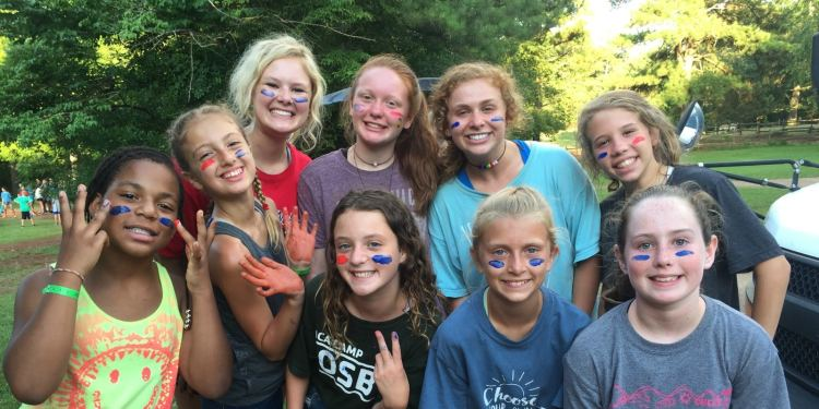 YMCA Camp Cosby smily happy campers