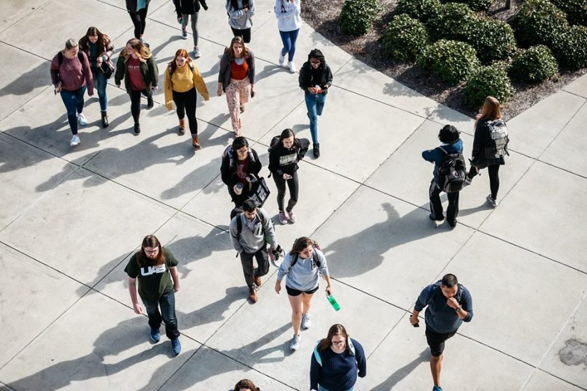 Birmingham, Alabama, UAB Science and Engineering Building, college students