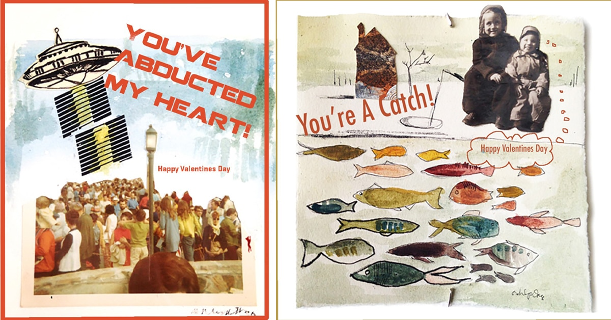 Drop-in Art Night: Mixed Media Valentines