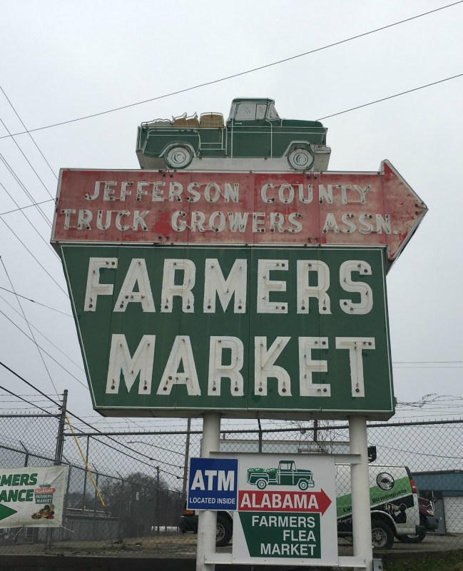 The Alabama Farmers Market on Finely Ave is a must-see in North Birmingham.