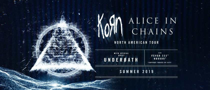 Korn and Alice in Chains headed to Birmingham on summer 2019 tour.