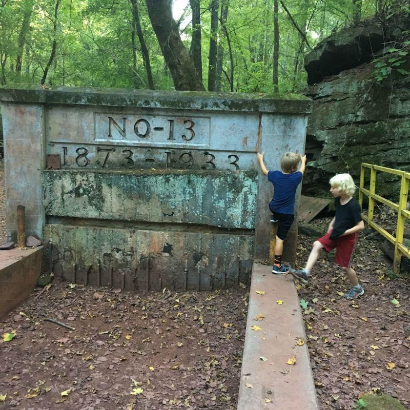 Birmingham, Alabama, Red Mountain Park, old No. 13 Mine