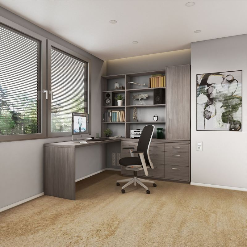 Closets by Design will be at the Birmingham Home Show Feb. 15-17. Amazing how closets can be so easily turned into other spaces, like home offices.