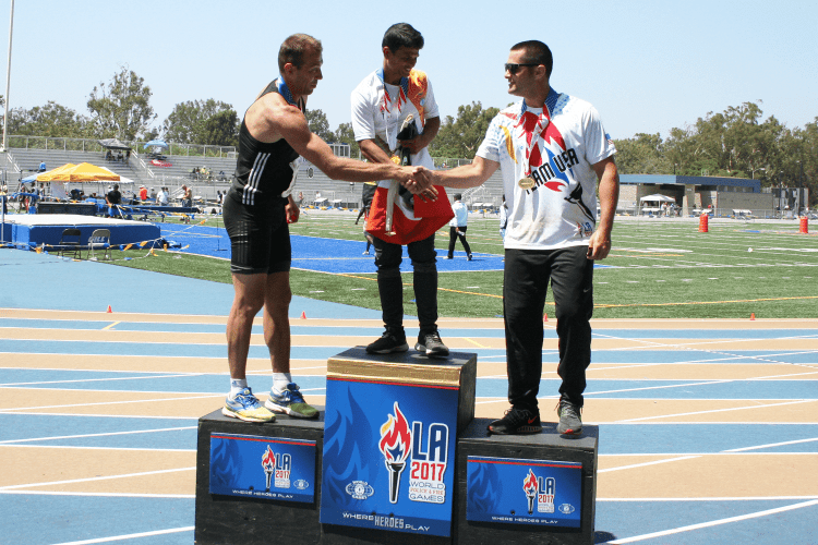 Athletes at the 2015 World Police and Fire Games in Los Angeles, California. (Photo submitted)