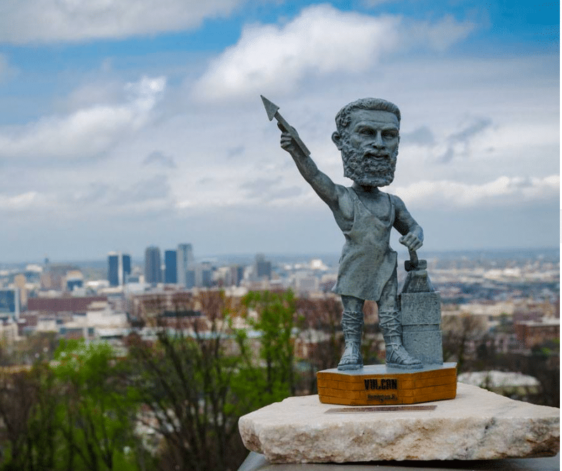 Can you drop an egg off Vulcan without breaking it? Prove it at Vulcan Park and Museum's Drink and Drop on April 4.