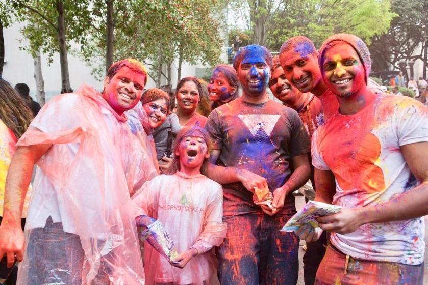 Birmingham, Birmingham Musem of Art, Holi Festival, Indian festivals