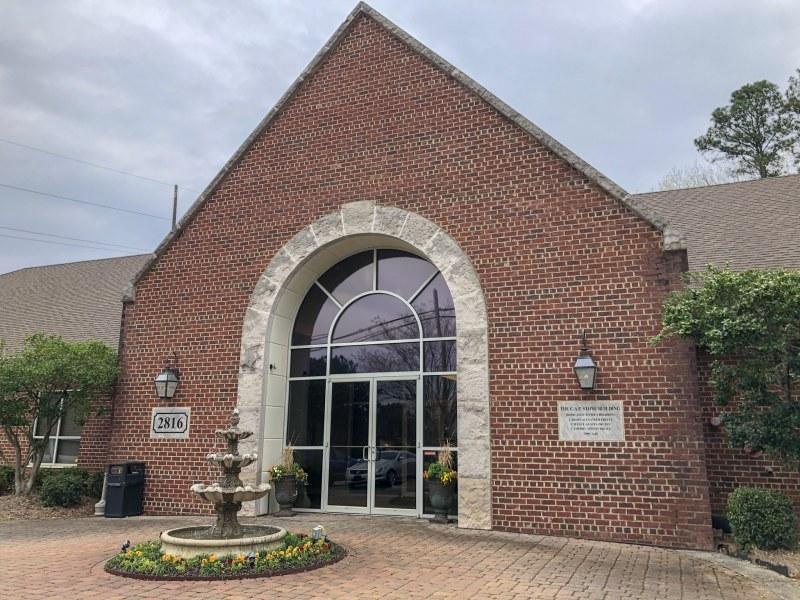 The C.A.P. Stone Building, Home of  Vestavia Family Dentistry & Facial Aesthetics