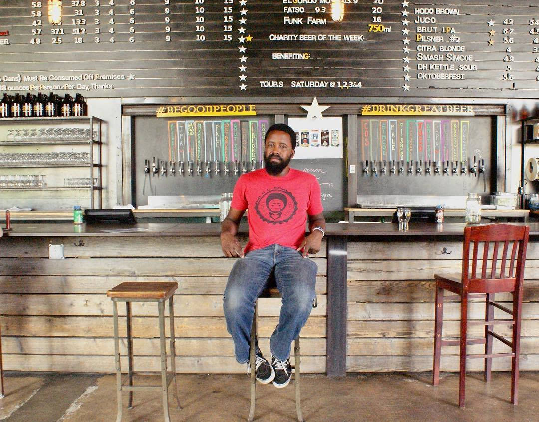 Craft beer enthusiast The Beered Black Man's first brew hits Good People March 30