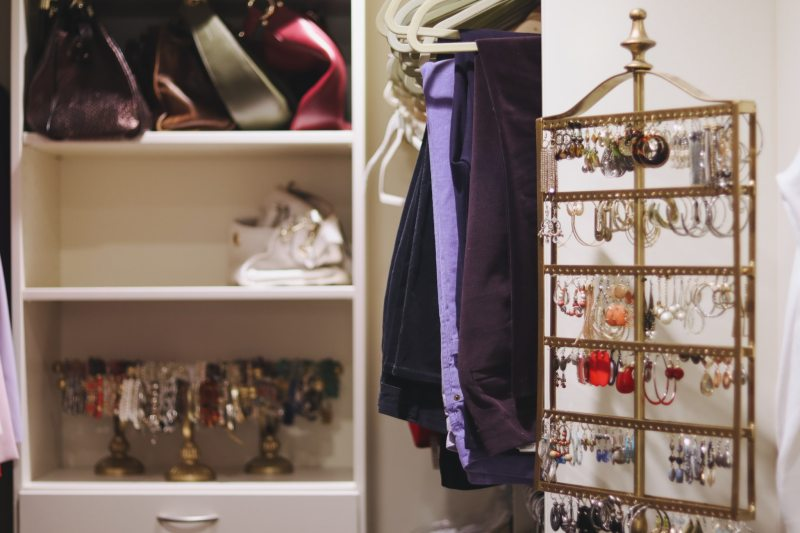 Rosa Hooper's multipurpose space includes a closet.