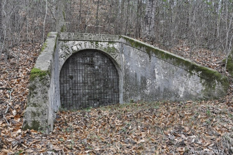 The Overton No. 2 mine was once an important part of the Cahaba community of Birmingham.
