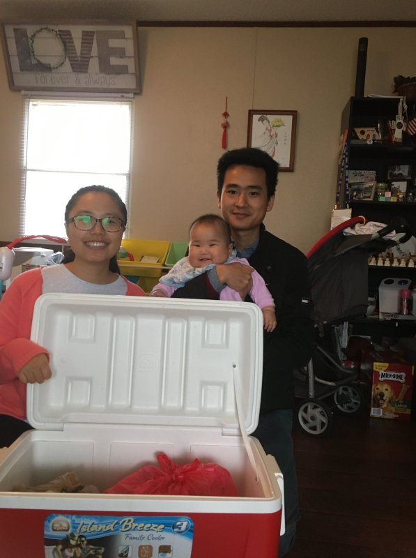 The Xu family of Cornerstone Chiropractic in Auburn hosts one of several drop-off locations throughout the state.