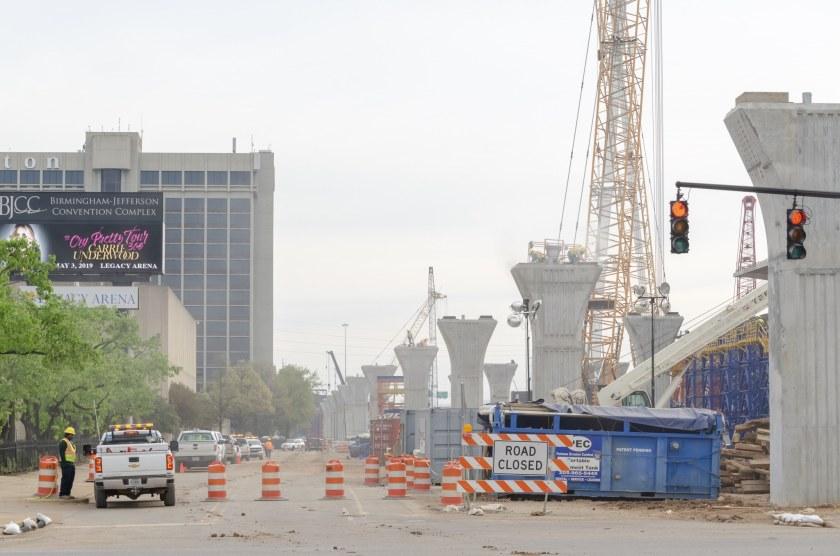 BJCC bridge construction