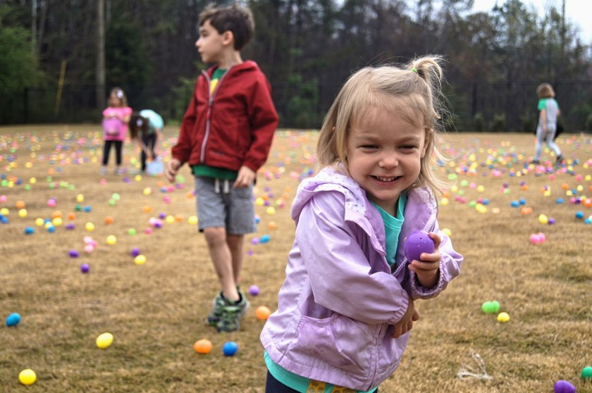 Birmingham, Asbury United Methodist Church, egg hunt, Easter, Bunnies and Biscuits