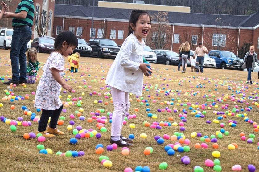 Birmingham, Asbury United Methodist Church, Easter, egg hunt