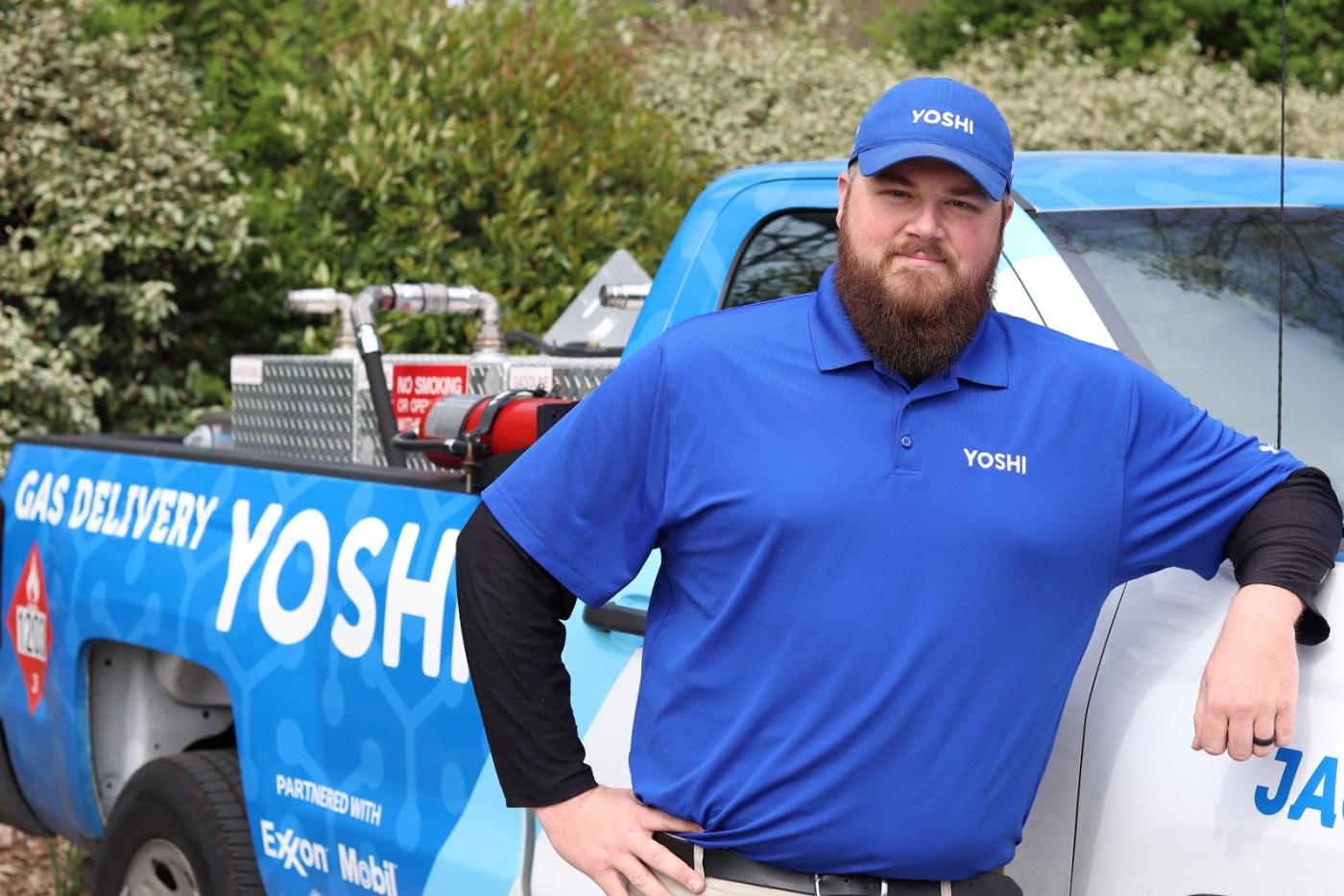 Birmingham, Yoshi, gas delivery