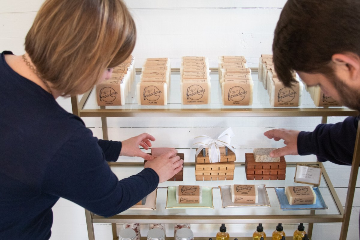 4 steps to spring cleaning your beauty routine with Birmingham based Freedom Soap Company