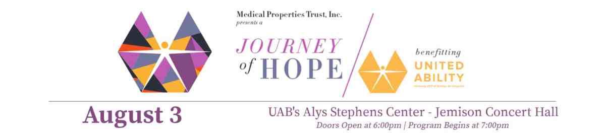 Journey of Hope benefitting United Ability