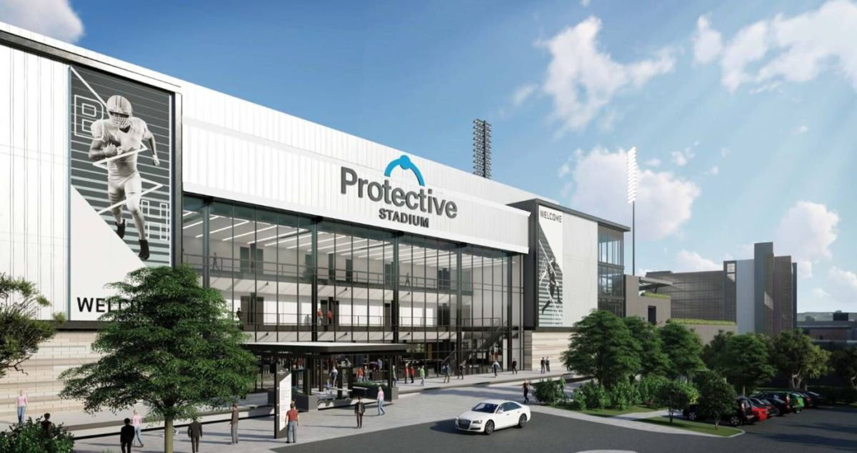 BJCC stadium gets official name, now Protective Stadium in 15 year, $15 million deal