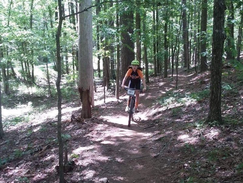 Youth mountain bikers in Birmingham get to build skills, confidence, make friends, and compete if they want.
