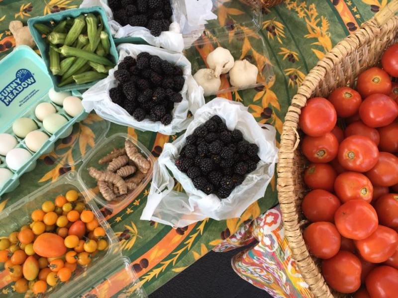 Valleydale Farmers Market takes place on Saturdays from 8AM-noon from late May through the Summer.
