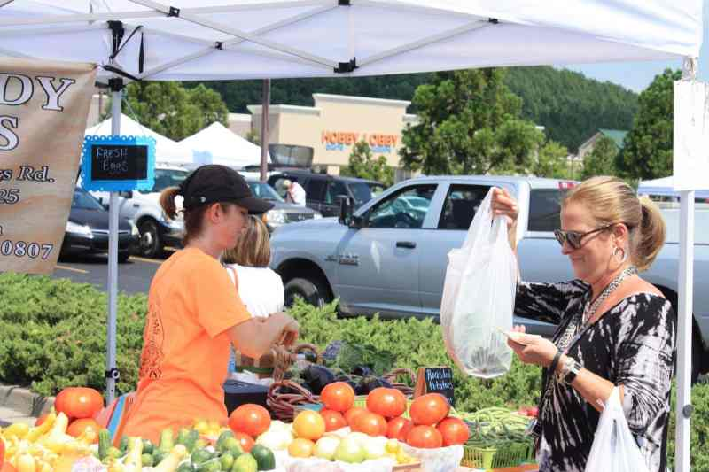 The MarketPlace at Lee Branch has all sorts of fresh things.