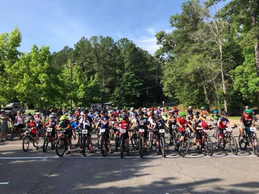 Birmingham, Bump N Grind Race, biking, cyclists