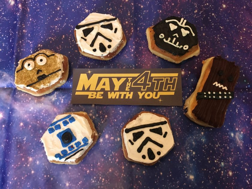 Birmingham, Heavenly Donut Co, May the 4th be with you