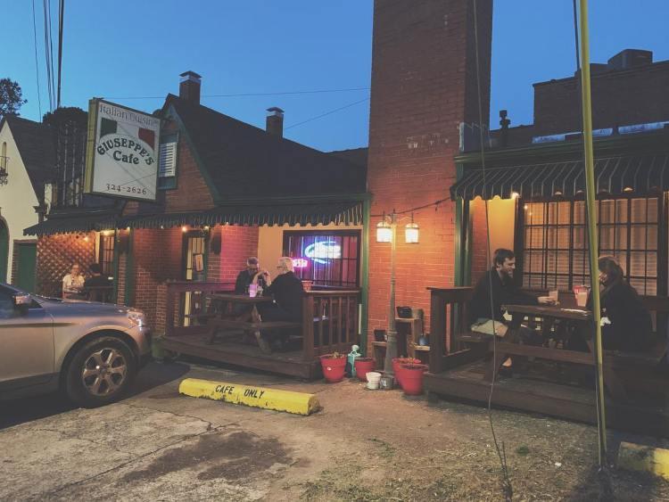 Giuseppe's in Glen Iris is one of the hidden treasures of Birmingham's Southside community.