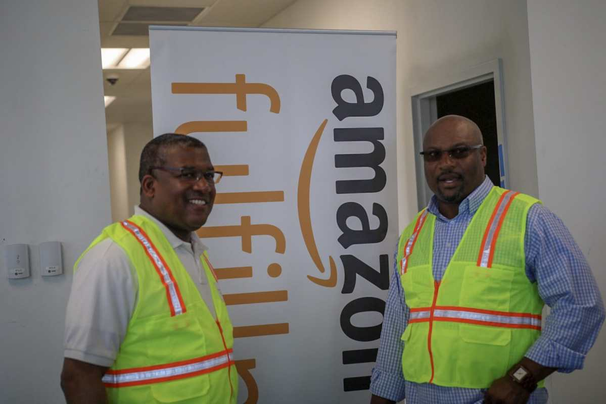 A first look at the Amazon Fulfillment Center in Bessemer (photos & videos)