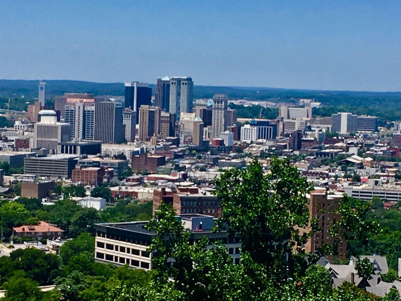 Birmingham, Alabama Skyline