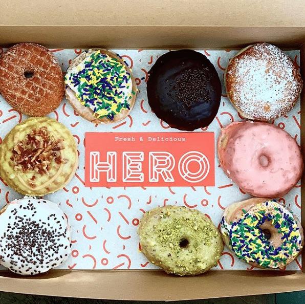 Facebook to visit Hero Doughnuts in Homewood this Friday, May 10. FREE doughnuts!