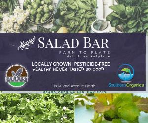 Salad Bar at The Harvest Market