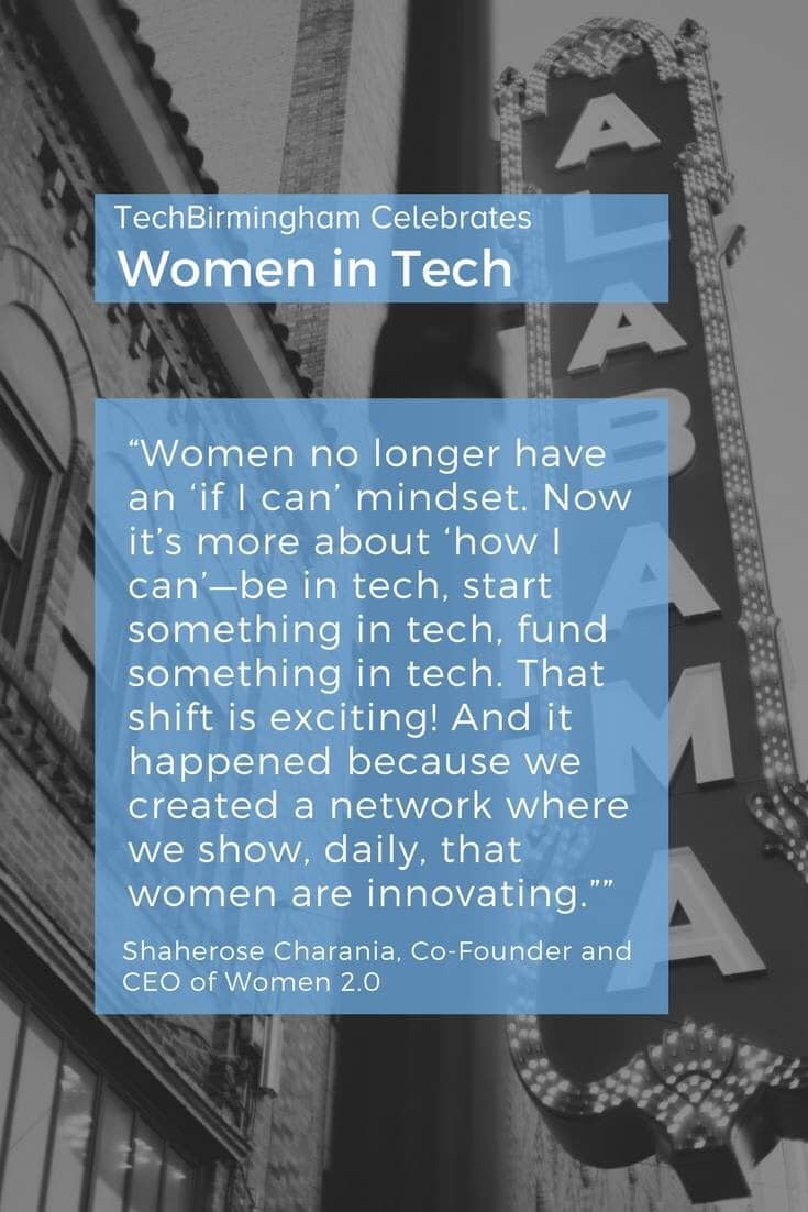TechBirmingham celebrates Women in Tech.