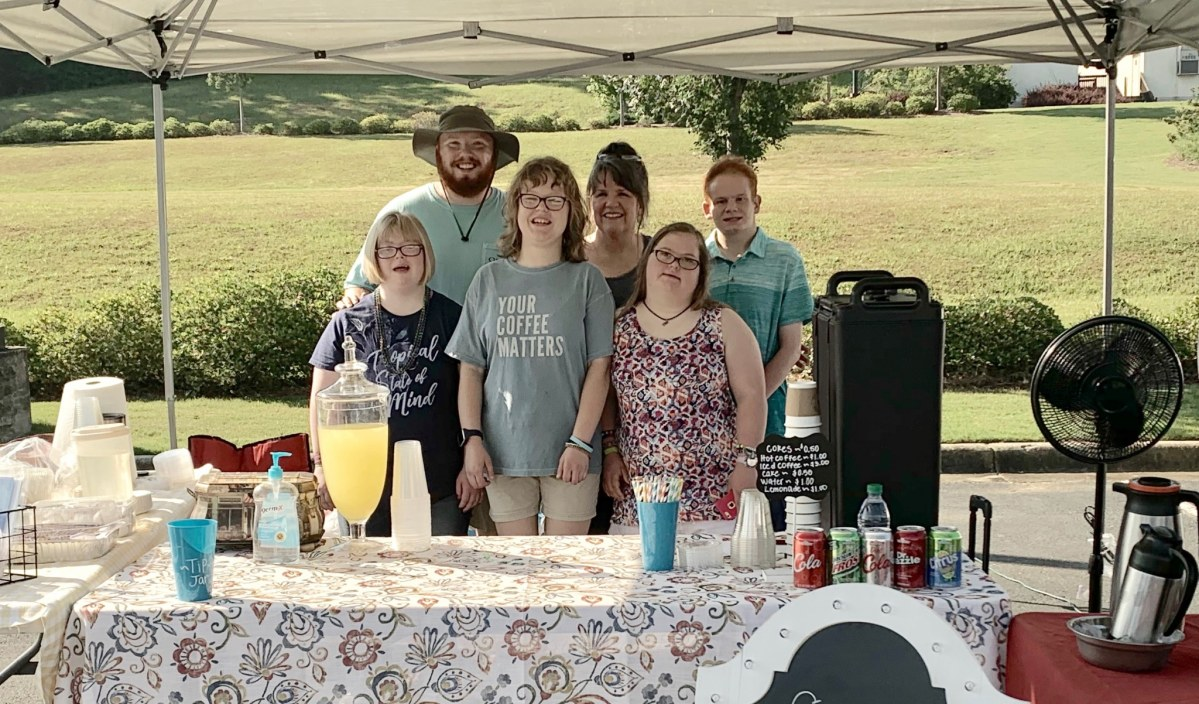 Special coffee served by special people: Cafe Three21 at the Valleydale Farmers' Market