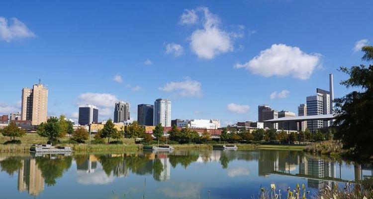 Railroad Park. Birmingham, AL.