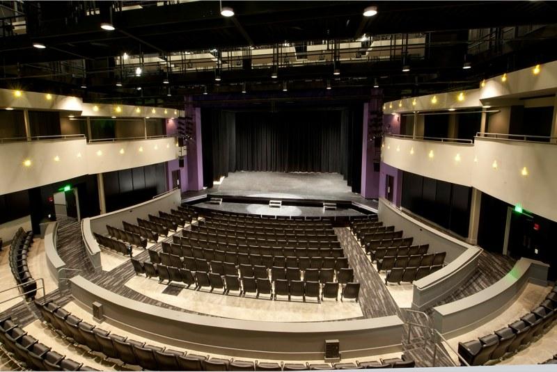Inside view of Dorothy Jemison Day Theater, Birmingham, Alabama