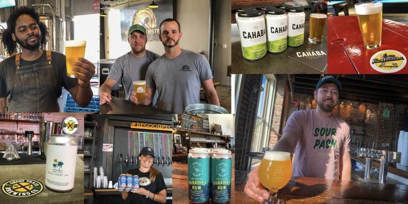 Montage of all of the best picks for summer beers brewed in Birmingham, AL. 2019.