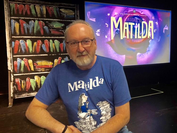 Michal Flowers, Director of Red Mountain Theatre Companys Matilda the Musical. Birmingham, Alabama. Talking to Bham Now about the production.