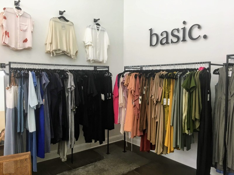 basic has transparent supply chains, which means you can feel good about what you're wearing.