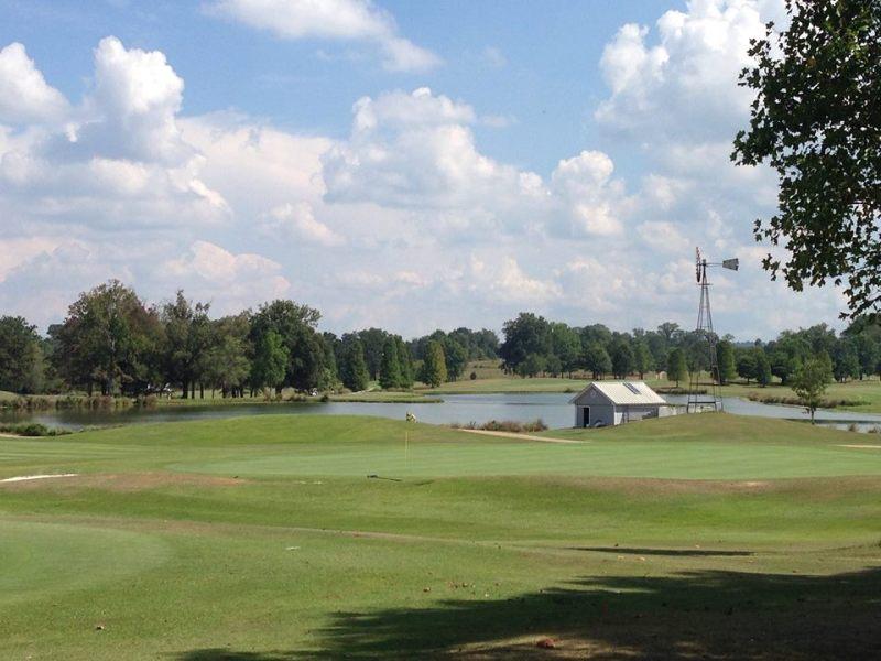 The windmill at Bent Brook Golf Club, Bessemer, AL.