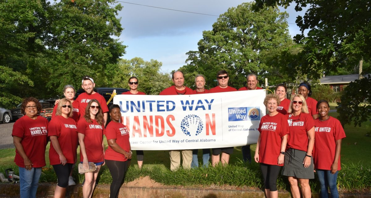 Hands On Birmingham is now United Way Hands On: Learn more about the new name, website and, volunteer opportunities
