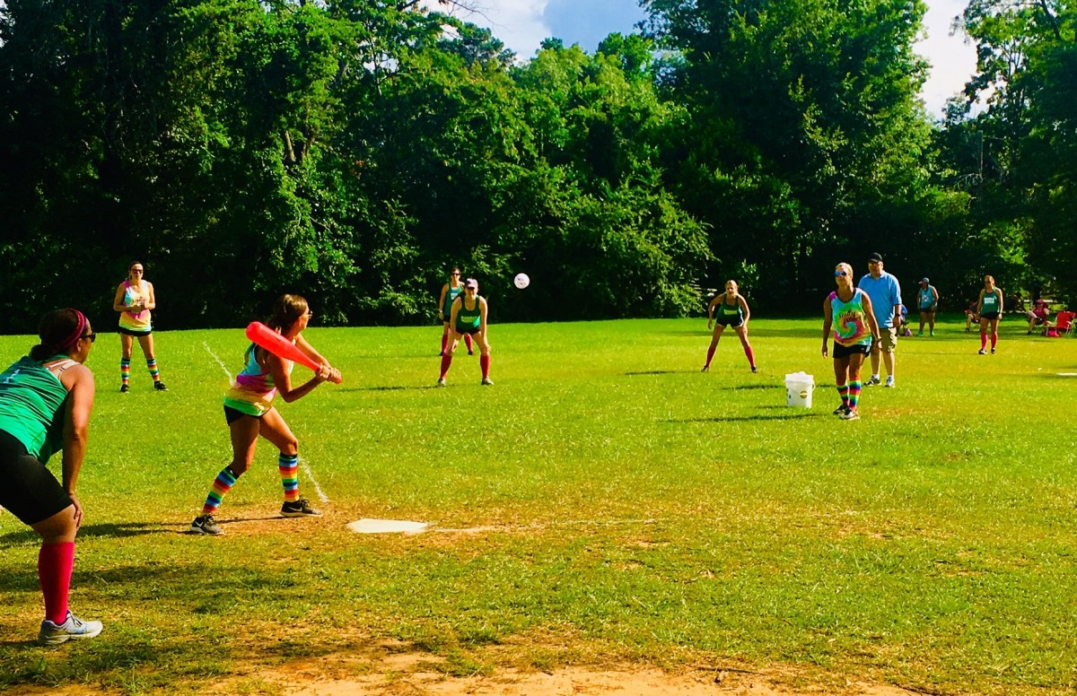 We discovered a Women's Whiffle Ball League in Hoover's Bluff Park. See what we found
