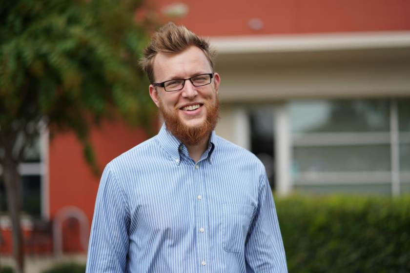 """Steve Robbins of Fledging is one of the """"Next Level"""" panelists at Sloss Tech."""