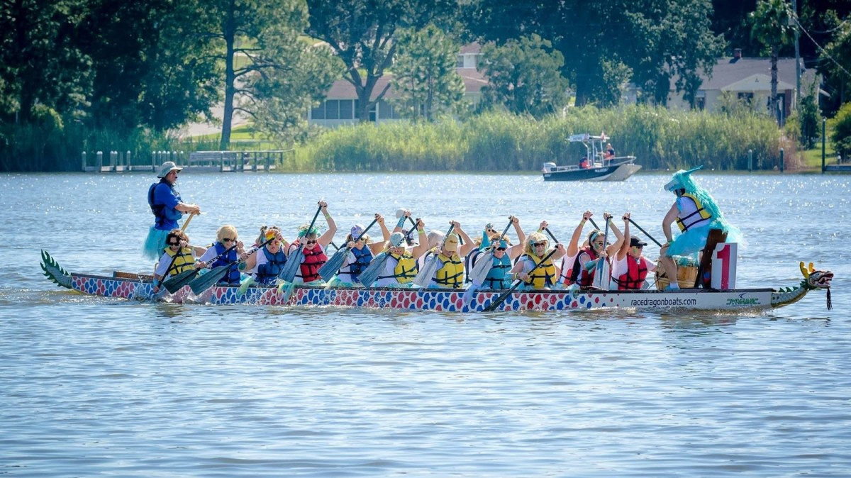 5 reasons you need to go to Birmingham's inaugural Dragon Boat Race and Festival at East Lake Park on August 24. Admission is free!