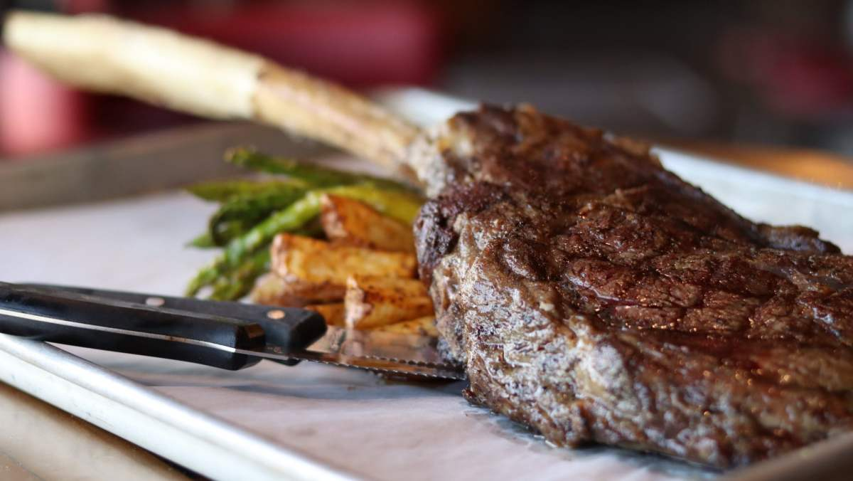 4-course steak night at Iron City Grill happening ONLY Saturday, July 13. Reserve your spot now!