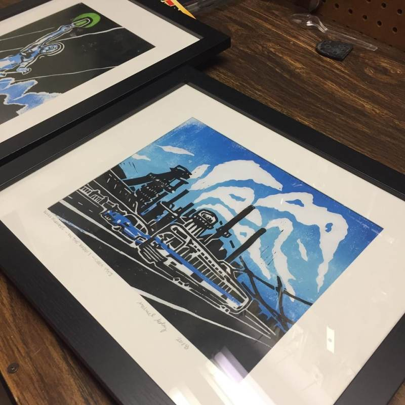 Michael Molay is one of 8 artists who will create art available for purchase at the silent auction at Art Alive!