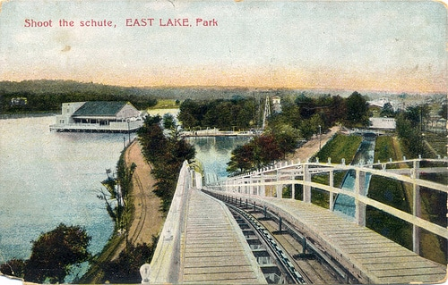 A postcard from East Lake Park c. 1909.
