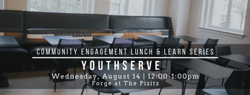 Community Engagement Lunch and Learn Series is an event Rebecca Dobrinski partnered with Forge to create.